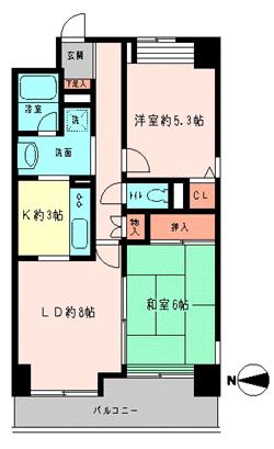 錦糸町 緑4丁目 グイr-ンコート 2LDK