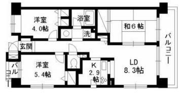 グリーンプラザ錦糸町2LDK 賃貸マンション物件情報