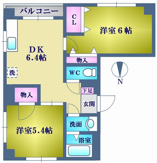 江東区猿江2丁目 2DK賃貸マンション
