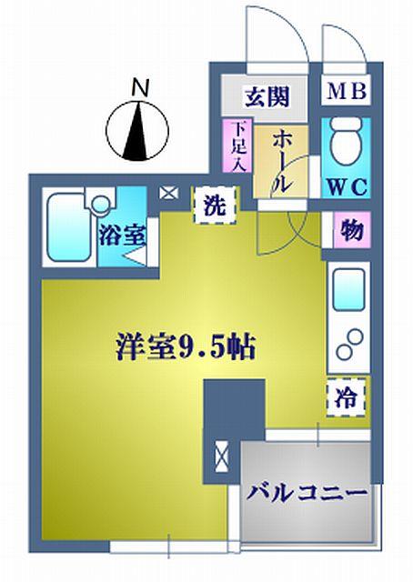 江東区亀戸1丁目 コモード寺山1ルーム