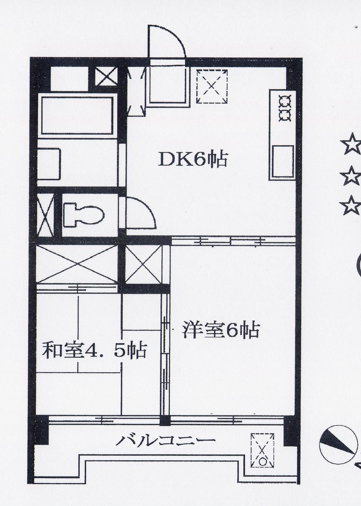 墨田区立川4丁目2DK賃貸マンション物件情報